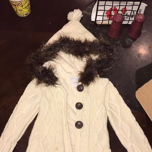Baby Gap 18-24 month hooded sweater jacket.